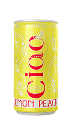 ciao lemon peach alcohol free
