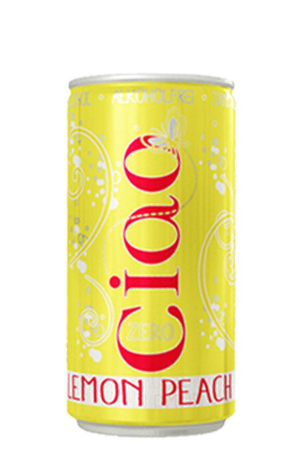 ciao lemon peach alcohol free